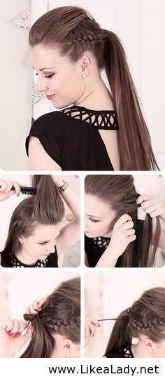 IM LOVE THIS im thinking do this to my hair tom night