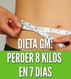 Dieta gm perder 8 kilos en 7 dias general motors