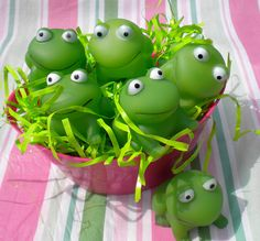 #Frog Party Supplies -Frog Squirters http://www.apartysource.com/