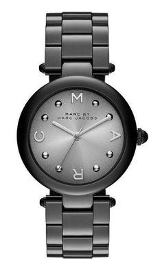 Marc by Marc Jacobs Dotty Bracelet 34MM in Black/ Silver