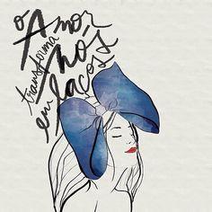 #autoajudadodia por @karenhofsetter e @Luciana Elaiuy! Uma frase linda e um desenho maravilhoso para celebrar o poder do amor em transformar qualquer dificuldade em uma ligação forte e renovadora! Bom fim de semana a todos!