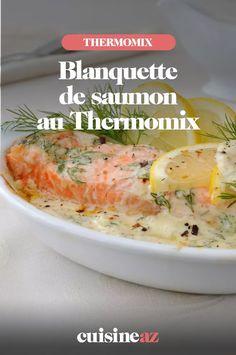 La blanquette de saumon est un plat familial facile à cuisiner au Thermomix. #recette#cuisine #blanquette #saumon #robot #robotculinaire #thermomix Mashed Potatoes, Voici, Keto, Chicken, Cooking, Ethnic Recipes, Rebel, Food, Cooking Recipes