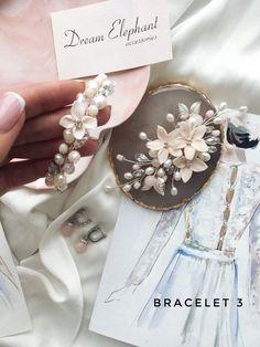 Wedding bracelets Bridal bracelets Flower bracelets Pearl | Etsy Bridal Bracelet, Flower Bracelet, Wedding Bracelets, Bridal Jewelry Sets, Wedding Hair Accessories, Wedding Jewelry, Bridal Hair Pins, Or Rose, Rose Gold