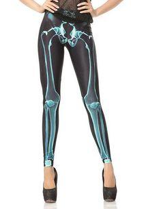 Fashion bone leggings