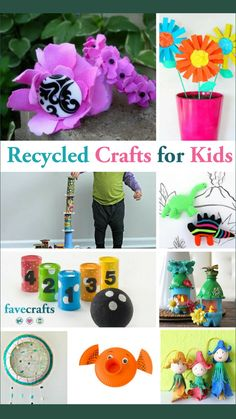 Easy Preschool Crafts, Yarn Crafts For Kids, Preschool Art Activities, Recycled Crafts Kids, Paper Plate Crafts For Kids, Recycled Art Projects, Christmas Crafts For Toddlers, Toilet Paper Roll Crafts, Summer Crafts For Kids