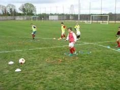 Atelier motricité - YouTube Football Workouts, Football Drills, Soccer Coaching, Hockey, Trainer, Goalkeeper, Fun Games, Teen, Kara