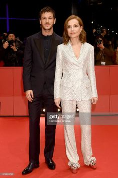 News Photo : Gaspard Ulliel and Isabelle Huppert attend the...
