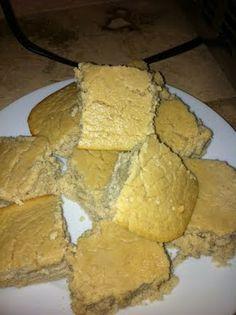 Clean Recipes. lemon protein bars. 86 calories