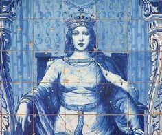 Rainha Santa Isabel -  Saint Isabella or Elizabeth Queen Saint of Portugal (1271-1336)