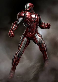 IRON MAN 3 Armor Concepts: Mark 42, Silver Centurion, Stealth War Machine