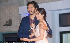 Still close: When Dev Patel, 25, and Freida Pinto, 30, united for a worthy cause at a char...