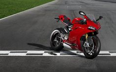 """Introducing the Ducati 1199 Panigale.  Which apparently means """"dead sexy gorgeous"""" in Italian."""