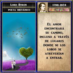 FRASES ILUSTRADAS Y AUTOR: FRASES ILUSTRADAS (Lord Byron)