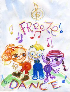 A musical fun party game for kids. Kids enjoy dancing and they will love this game.