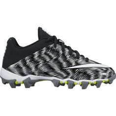 48ac1edc849 Nike Boys' Vapor Shark 2 Football Cleats (Cool Grey/White/Black, Size 6) -  Youth Football Shoes at Academy Sports