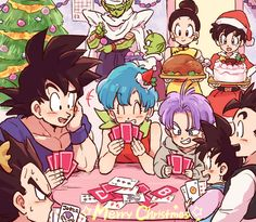 Christmas with the Z gang