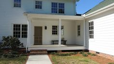 Addition to existing farmhouse by Maplestone Construction, Winston-Salem, NC.