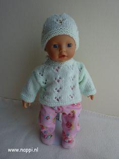 Winterkleding / My little Baby Born 32 cm | Nappi.nl, eigen ontwerp