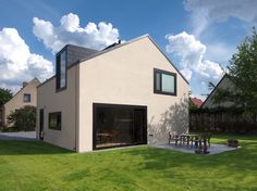 Foto © Callwey/Steiner Weissenberger Architekten Building Design, Building A House, Guard House, House Doors, Japanese House, Detached House, New Homes, Home And Garden, Decoration
