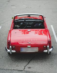 Triumph Spitfire Old Sports Cars, British Sports Cars, Old Cars, Sport Cars, Classic Motors, Classic Cars, Retro Cars, Vintage Cars, Triumph Motor