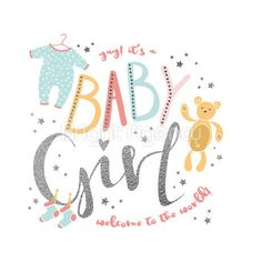 Welcome New Baby, Welcome Baby Girls, New Baby Girls, Baby Girl Gifts, Funny Baby Images, Cute Baby Girl Pictures, Baby Shower Invitation Cards, Baby Invitations, New Baby Girl Congratulations