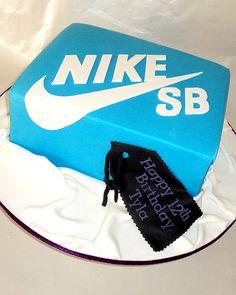 nike box cake - Bryson