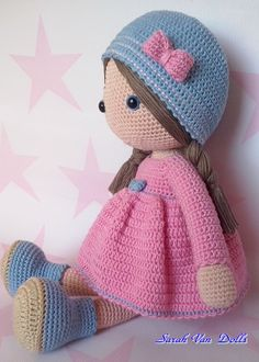 Mesmerizing Crochet an Amigurumi Rabbit Ideas. Lovely Crochet an Amigurumi Rabbit Ideas. Diy Crafts Crochet, Crochet Gifts, Crochet Projects, Crochet Doll Clothes, Knitted Dolls, Crochet Patterns Amigurumi, Amigurumi Doll, Crochet Dolls Free Patterns, Knit Patterns