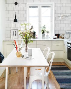 ChicDecó: | Scandinavian vintage kitchen