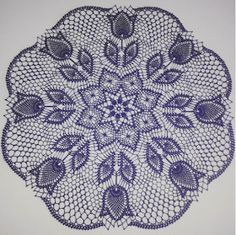 Тюльпани ананасові серветка гачок 3 фото 2 Crochet Doily Patterns, Crochet Squares, Crochet Doilies, Knit Crochet, Crochet Projects, Beach Mat, Mandala, Outdoor Blanket, Projects To Try