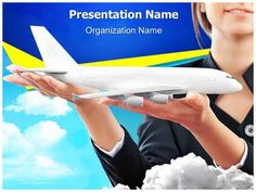 download editabletemplatescoms premium and cost effective flight safety editable powerpoint slide templatespowerpoint - Southwest Airlines Ppt Template Free Download