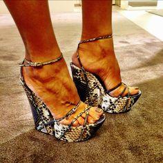 Last night's shoes : Fendi ❤