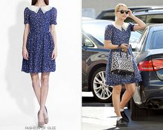 Dianna Agron out and about, Beverly Hills, November 5, 2012  Ani Lee 'Andy' Dress - No longer available  Worn with:Persol sunglasses,Dana Rebecca Designs necklace,Kamibashi keychain,Louis Vuitton tote,Marc by Marc Jacobs creepers