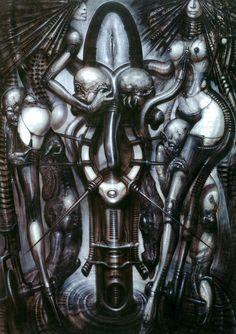Alien 1979, Alien Film, Alien Art, Hr Giger Art, Arte Horror, Horror Art, Dark Fantasy Art, Boris Vallejo, Witches Dance