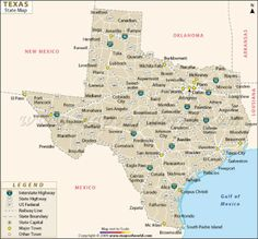 86 Best Texas Maps images | Texas maps, Texas history, Republic of texas