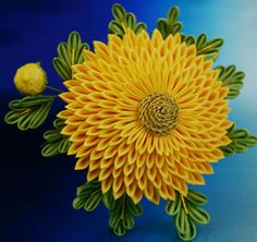 Chrysanthemum Kanzashi by ~vivcore