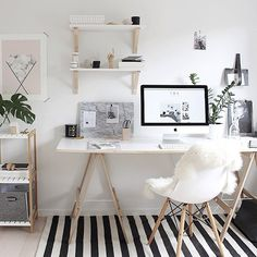Beautiful office picture from our Pinterest board, follow us @urbanwalls