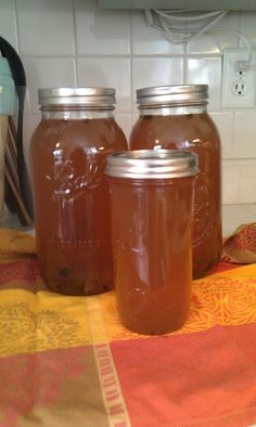 Apple Pie Moonshine; a great adult beverage for cold nights.