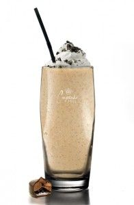 FLUFFY PILLOW    1 oz Cupcake Devil's Food Vodka  1 oz Coffee Liqueur  1 oz Dark Crème de Cacao  1 oz Chocolate Syrup  2 Scoops Vanilla Ice Cream  Whipped Cream    Combine ingredients into blender with 1 cup of ice and blend until  smooth in a high ball glass. Top with whipped cream.