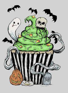 Gothic Cupcake