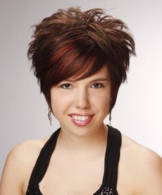 Short back long sides hairstyle for women   30 Sexy Short Hairstyles For Thick Hair   CreativeFan