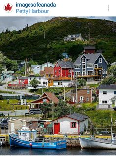 Petty Harbour-Maddox Cove Town in Newfoundland and Labrador, Canada .visited this little town today and bought fresh fish! Canadian Travel, Canadian Rockies, Canadian Forest, Newfoundland Canada, Newfoundland And Labrador, O Canada, Alberta Canada, Canada Trip, Alaska