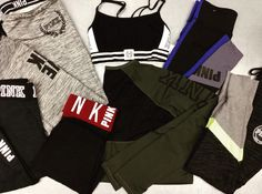 The sneak peeks are happening again! Our Athletic Wear Event is this Saturday, Jan 14! We have TONS of amazing brands waiting for you! 💪 Doors open at 10am! (No holds will be taken for these items) #athleticwearevent #athleisure #pinkbyvictoriassecret #getfit #healthylifestyle #demmusclesdoe | www.platosclosetkitchener.com