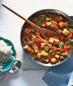 Tofu and Vegetable Curry With Rice | And it's in your kitchen right now.