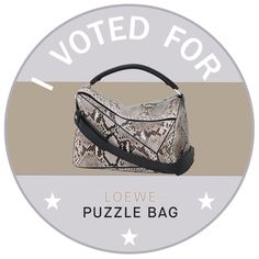 Vote Loewe Puzzle Bag for #ItBag2015! – Vogue