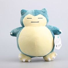 Pokemon Snorlax Kabigon 11 Inch Toddler Stuffed Plush Kids Toys -- Awesome products selected by Anna Churchill