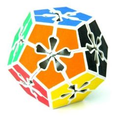 Flowers Megaminx Flowerminx Magic Cube Puzzle Brain Teaser