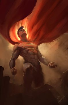 Superman by jakeandersonstudio