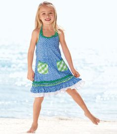 Summer at the beach dress!