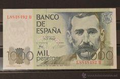 1000 PESETAS DEL 23 DE OCTUBRE DE 1979 ESPAÑA SERIE LB