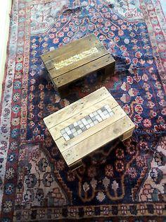 artpallet, piccoli pallet 30x40 con mosaico da arredamento